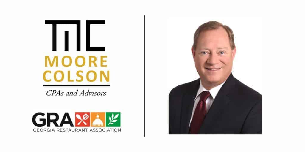 Brian Renshaw Moore Colson Partner CPAs Advisors Georgia Restaurant Association Board Member