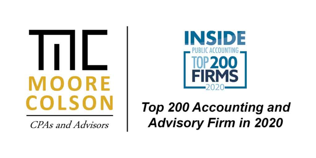 Moore Colson CPAs Advisors IPA Top 200 Accounting Firm in US - Atlanta Georgia