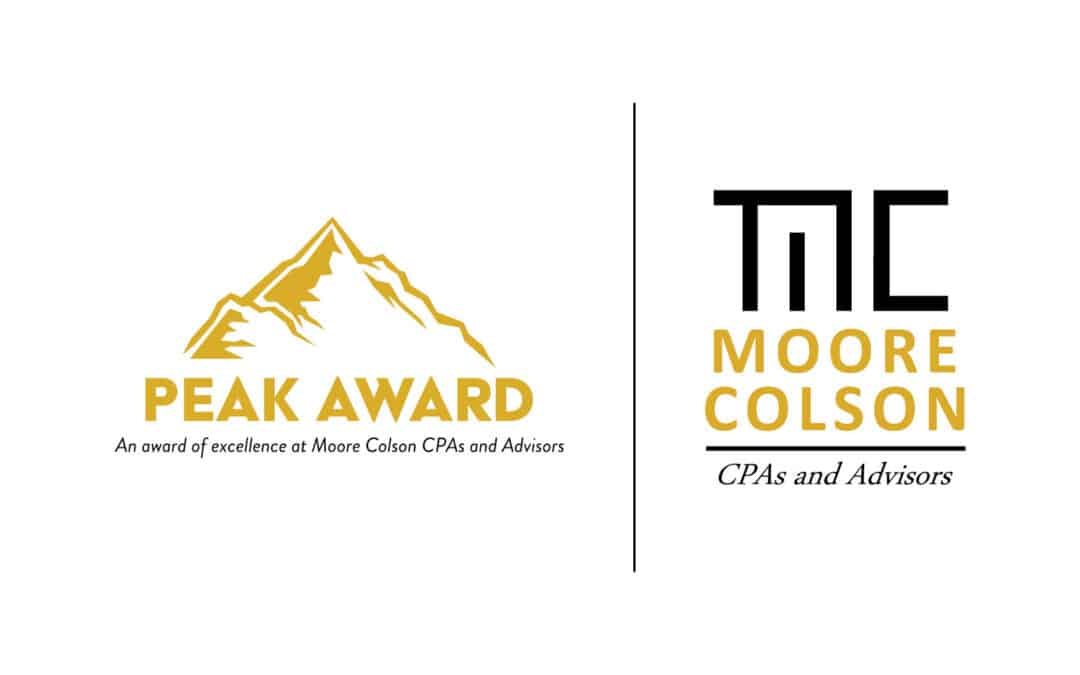 Moore Colson Announces Winners of the 2020 Second Trimester Peak Award